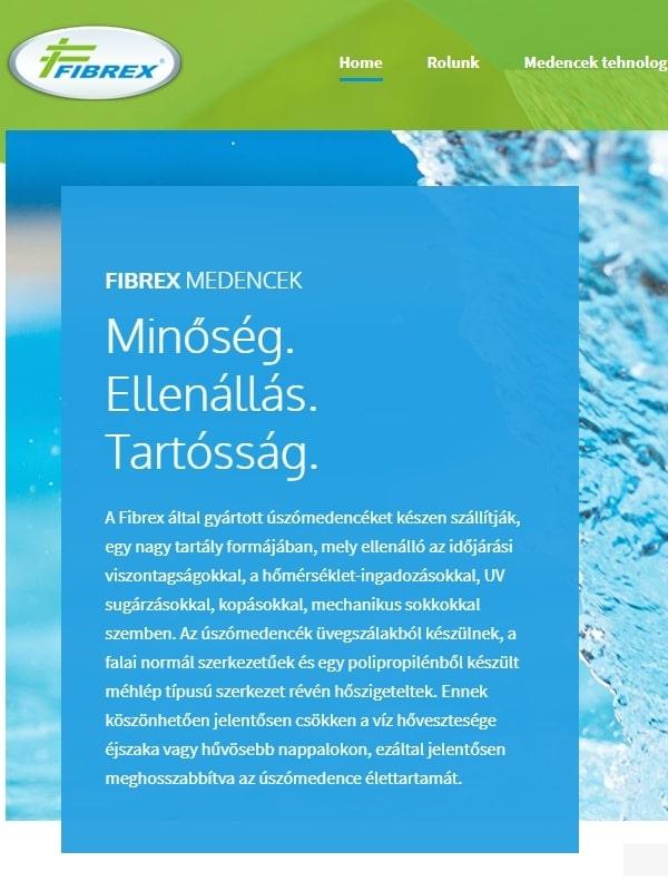 Fibrex Medencek